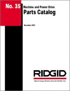 PDF Parts Catalog RIDGID
